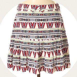 Eleven Paris print skirt M (40 EU)